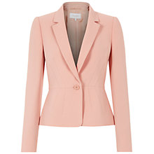 Buy Hobbs Invitation Snowdonia Jacket, Mellow Pink Online at johnlewis.com