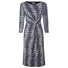 Buy Windsmoor Georgia Jersey Print Dress, Blue Online at johnlewis.com