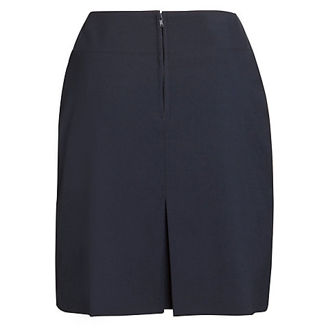 Buy Emanuel School Girls' Skirt, Navy Online at johnlewis.com