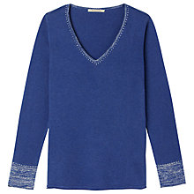 Buy Gérard Darel Knitting Sweater, Indigo Online at johnlewis.com