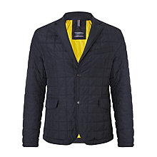 Buy Tommy Hilfiger Mike Lightweight Quilted Blazer, Midnight Online at johnlewis.com