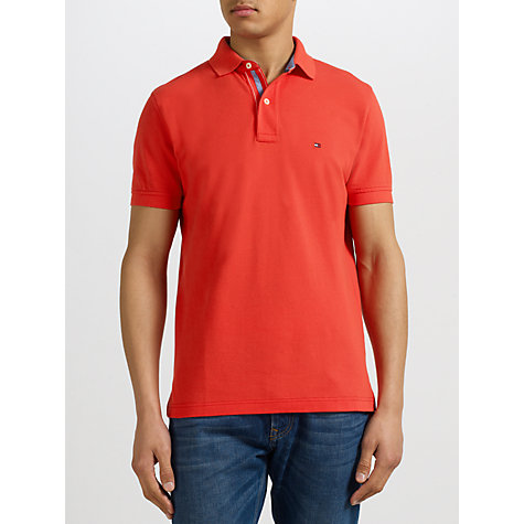 Buy Tommy Hilfiger Summer Tommy Polo Shirt Online at johnlewis.com