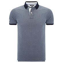 Buy Tommy Hilfiger Lance Short Sleeve Polo Shirt, Navy Online at johnlewis.com