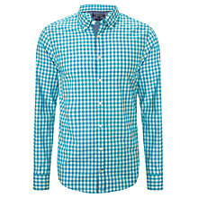 Buy Tommy Hilfiger Polly Long Sleeve Shirt, Carribean Sea Online at johnlewis.com