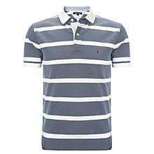Buy Tommy Hilfiger Lester Polo Shirt, Navy Online at johnlewis.com