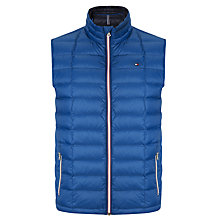 Buy Tommy Hilfiger Bennet Lightweight Down Gilet, True Blue Online at johnlewis.com