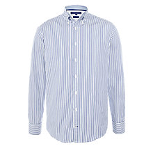 Buy Tommy Hilfiger Jaime Stripe Shirt, True Blue Online at johnlewis.com