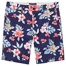 Buy Tommy Hilfiger Brookre Floral Print Shorts, Coral Online at johnlewis.com