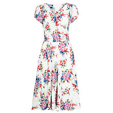 Buy Ghost Jodie Dress, Pansy Bloom Online at johnlewis.com