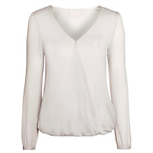 Buy Ghost Margot Lined Top, Silver Online at johnlewis.com