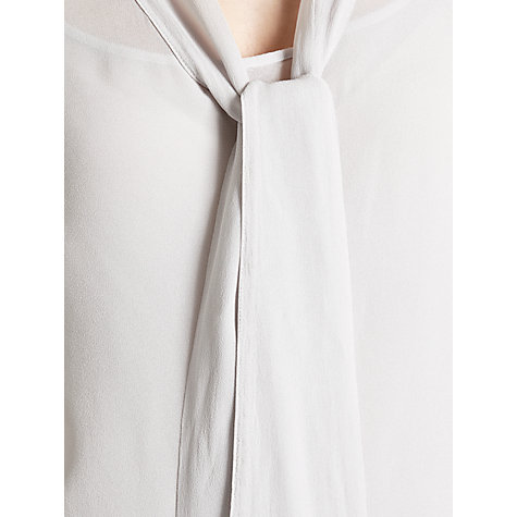 Buy Ghost Iris Blouse, Silver Online at johnlewis.com