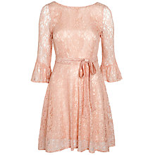 Buy Ghost Nicola Dress, Blush Online at johnlewis.com