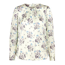 Buy Ghost Imogen Top, Cupids Flower Mint Online at johnlewis.com