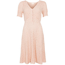 Buy Ghost Keira Tea Dress, Blush Online at johnlewis.com