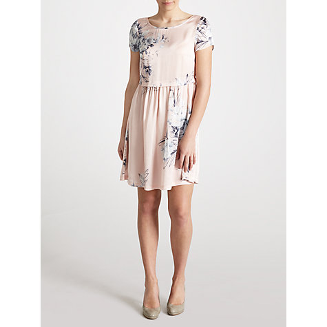 Buy Ghost Isabella Dress, Regents Rose Pink Online at johnlewis.com