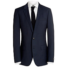 Buy BOSS Huge Genius Wool Suit, Navy Online at johnlewis.com