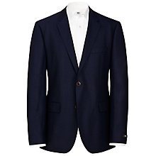 Buy BOSS Keys Hopsack Blazer, Navy Online at johnlewis.com