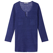 Buy Gérard Darel Knitting Sweater, Navy Blue Online at johnlewis.com