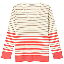 Buy Gérard Darel Striped Jumper, Red/White Online at johnlewis.com