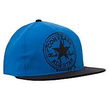 Buy Converse Boys' All Star Chuck Taylor Flat Cap, Blue Online at johnlewis.com