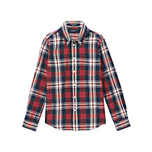 Buy Gant Boys' Archive Madras Check Shirt, Multi Online at johnlewis.com