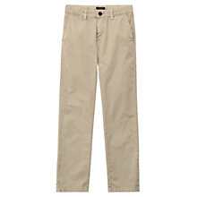 Buy Gant Boys' Soho Chino, Beige Online at johnlewis.com