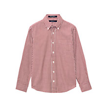 Buy Gant Boys' Gingham Cotton Shirt Online at johnlewis.com