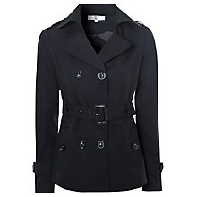 Buy True Decadence Short Belted Mac, Black Online at johnlewis.com
