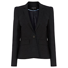 Buy Warehouse Soft Check Workwear Jacket, Grey Pattern Online at johnlewis.com