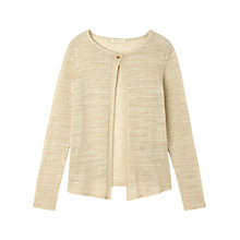 Buy Gérard Darel Knitting Cardigan, Beige Online at johnlewis.com