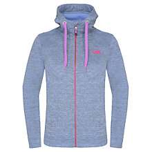Buy The North Face Women's Kutum Full Zip Fleece Hoodie Jacket, Lavender Online at johnlewis.com