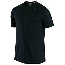 Buy Nike Legend Short Sleeve Crew Neck T-Shirt, Black Online at johnlewis.com