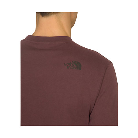 Buy The North Face Company Car Short Sleeve T-Shirt, Fudge Brown Online at johnlewis.com
