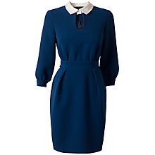 Buy Closet Collar Dress, Blue Online at johnlewis.com
