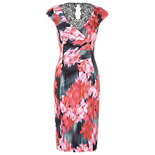 Buy Alexon Vibrant Floral Dress, Red Online at johnlewis.com