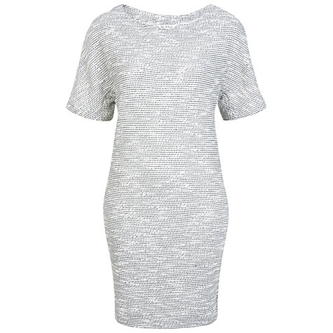 Buy Miss Selfridge Cocoon Boucle Dress, Cream Online at johnlewis.com