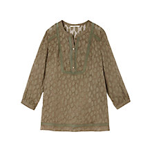 Buy Gérard Darel Kaki Shirt, Kaki Online at johnlewis.com