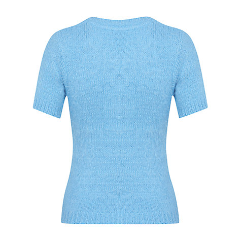 Buy Miss Selfridge Knitted Fluffy Jumper Online at johnlewis.com