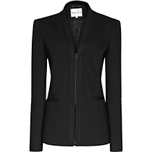 Buy Reiss Azzurra Tailored Jacket, Black Online at johnlewis.com
