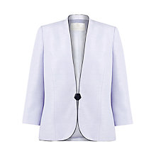 Buy Jacques Vert Piped Tailored Jacket, Purple Online at johnlewis.com