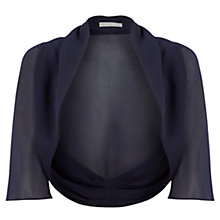 Buy Jacques Vert Chiffon Cover Up, Blue Online at johnlewis.com
