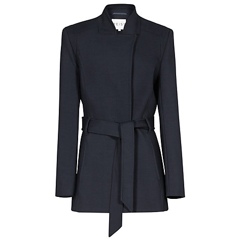 Buy Reiss Fitted Porter Coat, Night Sky Online at johnlewis.com