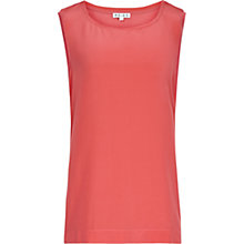 Buy Reiss Silk Front Kali Top Online at johnlewis.com