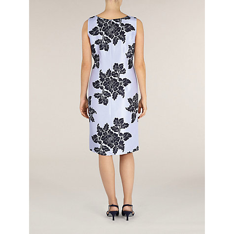 Buy Jacques Vert Floral Shangtung Dress, Lilac Multi Online at johnlewis.com