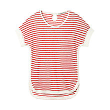 Buy Gérard Darel Tee-Shirt, White/Red Online at johnlewis.com