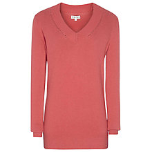 Buy Reiss V-Neck Lilah Jumper Online at johnlewis.com