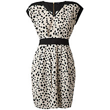 Buy Closet Monochrome Blu Dress, Black/White Combo Online at johnlewis.com