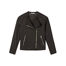 Buy Gérard Darel Perforated Jacket, Black Online at johnlewis.com