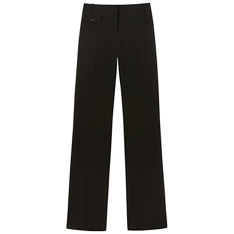 Buy Gérard Darel Wide Trousers, Black Online at johnlewis.com