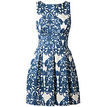Buy Closet Cut Out Back Dress, Blue Online at johnlewis.com
